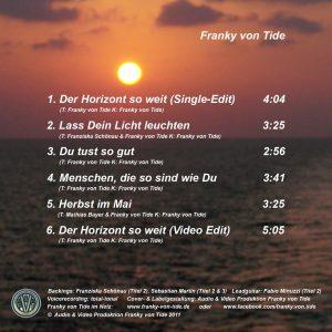 """Coverbild innen EP """"Der Horizont so weit!"""""""