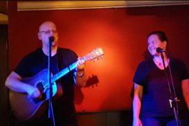 Franky von Tide und Birgit Leuthold bei der Fête de la Musique im DODO