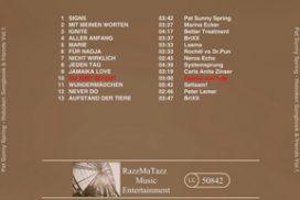 Hoboken Songbook & Friends Vol.1 CD-Cover Rückseite
