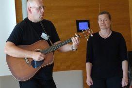 Franky von Tide und Birgit Leuthold beim MHL-Award