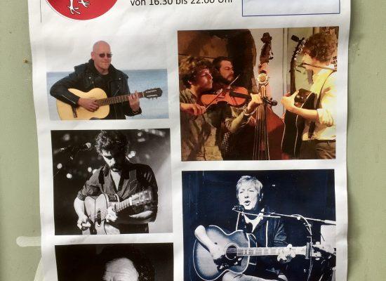 Werbeplakat zur Fête de la Musique im DODO