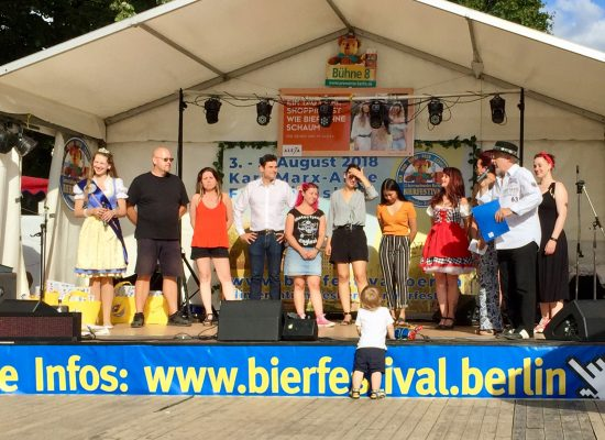 Preisverleihung beim 22. Internationales Bierfestival in Berlin