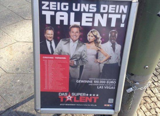"""Casting für die RTL-Show """"Das Supertalent"""""""