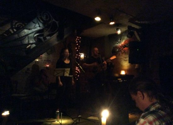 Franky von Tide & Birgit Leuthold live im ARCANOA