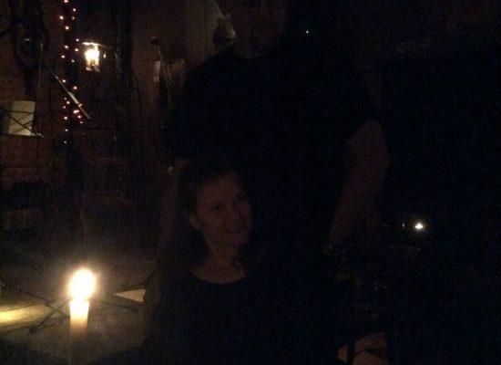 Franky von Tide & Birgit Leuthold nach dem Auftritt im ARCANOA
