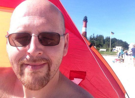 Spmmerurlaub auf Sylt - Strandbesuch