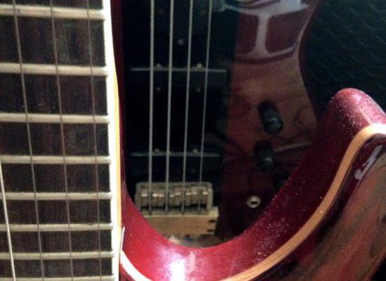 E-Gitarren sind eingespielt