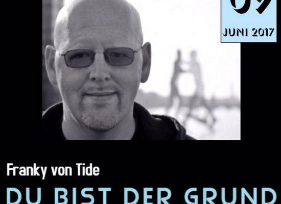 """Plakat zur Record-Release-Party für das Album """"Du bist der Grund"""""""