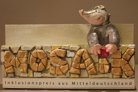 """1. Preisverleihung des """"MOSAIK"""" (Inklusionspreis aus Mitteldeutschland)"""