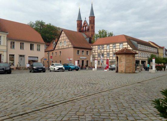 Sommerurlaub 2017 - Der Markt in Kyritz