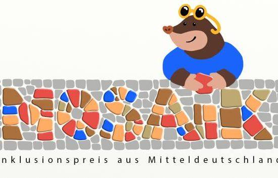 """Verleihung des Inklusionspreis aus Mitteldeutschen """"MOSAIK"""" durch den MHL"""