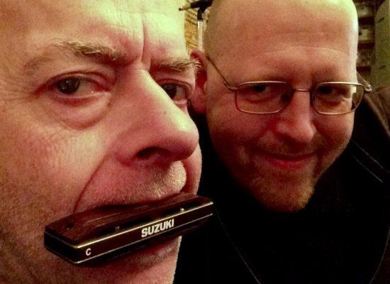 """Harald Rudziansky hat die Mundharmonika für """"Kein Niveau"""" eingespielt"""