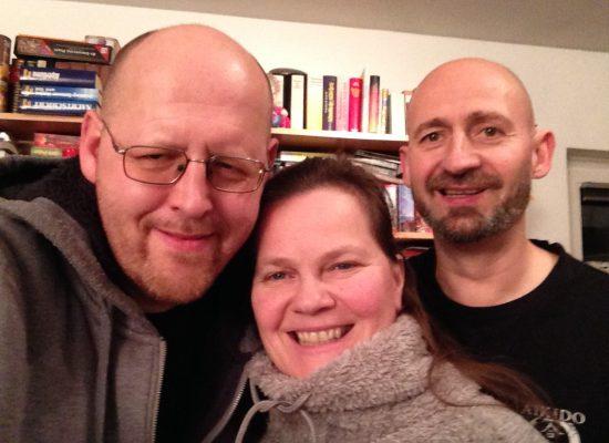 Probe mit Birgit Leuthold & Thomas Seedorf
