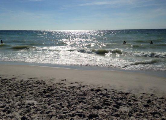 Sommerurlaub auf Sylt - am Strand
