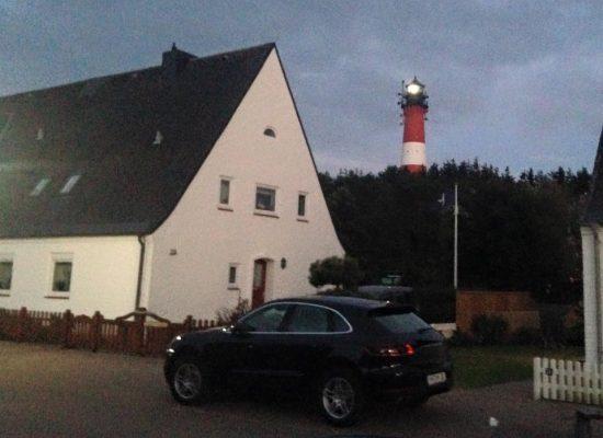 Sommerurlaub auf Sylt - Abendstimmung in Hörnum