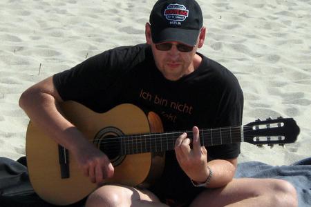 Sommerurlaub auf Sylt - spontanes Strandkonzert