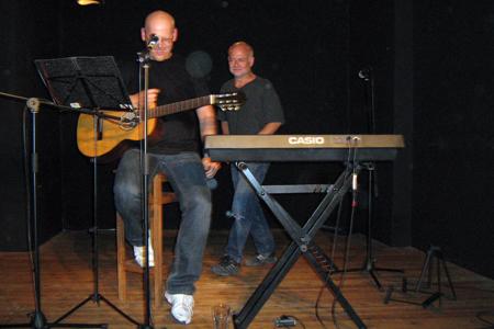 Franky von Tide & Harald Rudziansky im Zimmer 16
