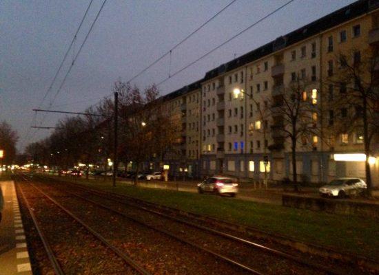 Abendstimmung über Berlin