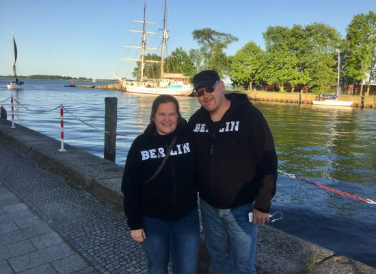 Franky von Tide & Birgit Leuthold in Greifswald