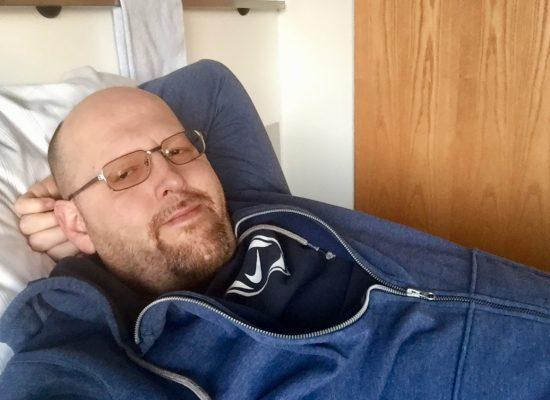 Franky von Tide im Krankenhaus