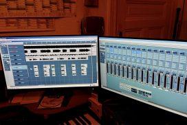 im Studio bei Audio & Video Produktion Franky von Tide